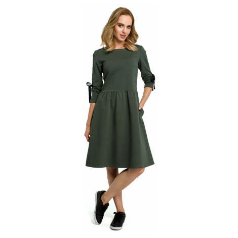 Made Of Emotion Woman's Dress M388 Military