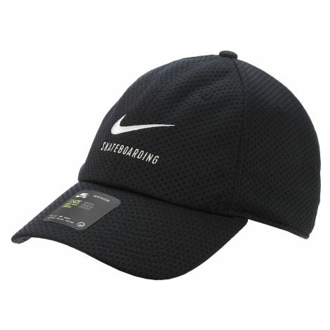 czapka z daszkiem Nike SB Heritage86 Swoosh Mesh - 010/Black/White