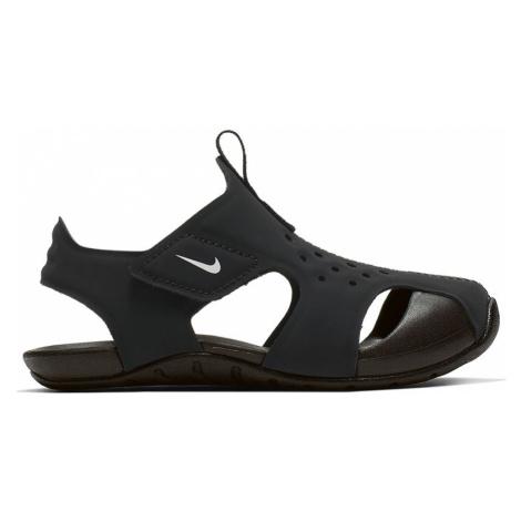 Nike Sunray Protect 2 (TD) Dziecięce Czarne (943827-001)