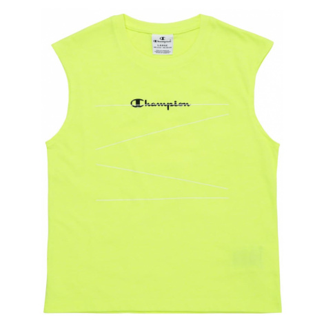 Champion Authentic Athletic Apparel Top neonowo-żółty