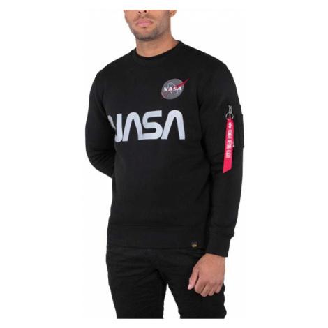 Bluza męska Alpha Industries Nasa Reflective Sweater 178309 03