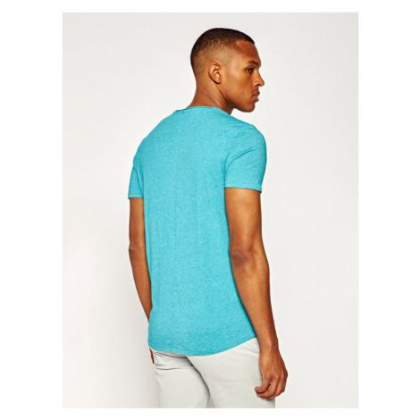 Tommy Jeans T-Shirt Tjm Essential Jaspe Tee DM0DM04792 Niebieski Slim Fit Tommy Hilfiger