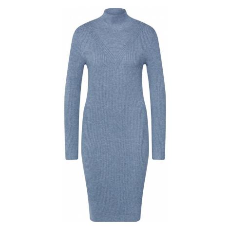VILA Sukienka z dzianiny 'VIANDENA' podpalany niebieski