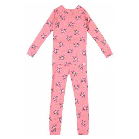 GAP Piżama zielony / różowy pudrowy
