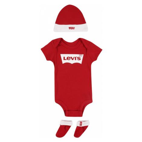 LEVI'S Zestaw do prania 'Batwing' czerwony / biały Levi´s
