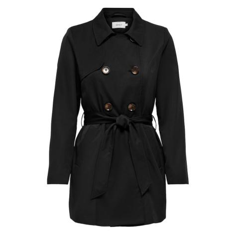 ONLY Płaszcz przejściowy czarny