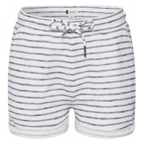 ROXY Spodnie 'TRIPPIN' biały / granatowy