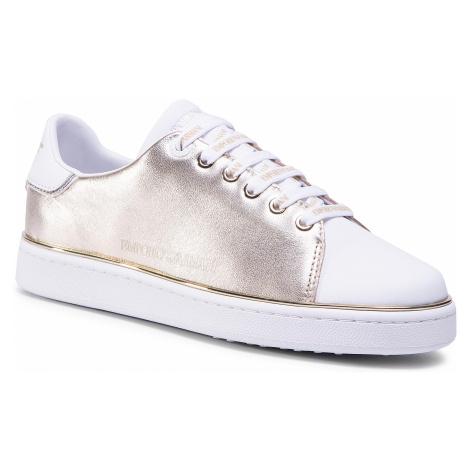 Sneakersy EMPORIO ARMANI - X3X103 XM530 N173 Gold/White/Gold