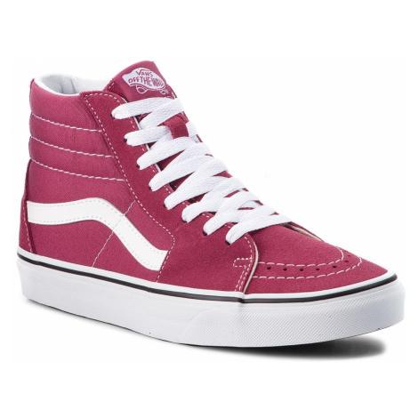 Sneakersy VANS - Sk8-Hi VN0A38GEU64 Dry Rose/True White
