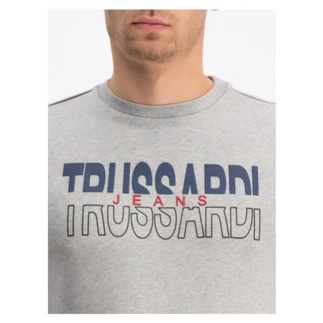 Trussardi Jeans Bluza 52F00094 Szary Regular Fit