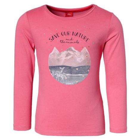 S.Oliver Koszulka mieszane kolory / różowy
