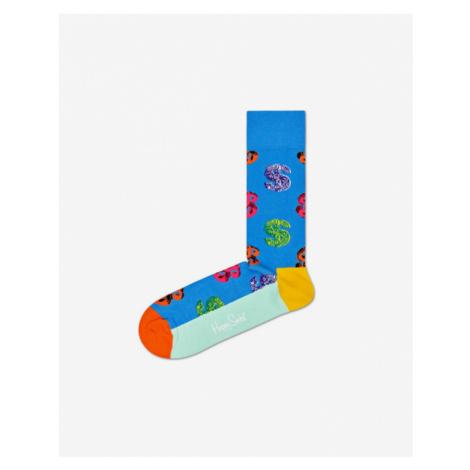 Happy Socks Andy Warhol Dollar Skarpetki Niebieski
