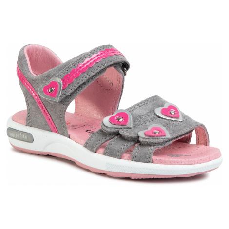 Sandały SUPERFIT - 6-06133-25 D Hellgrau/Rosa