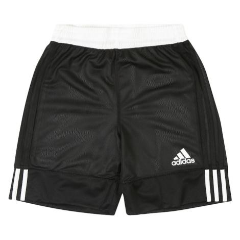 ADIDAS PERFORMANCE Spodnie sportowe '3G Speed Reversible' czarny / biały