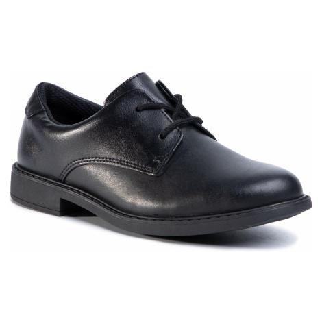 Półbuty CLARKS - Scala Loop K 261428307 Black Leather