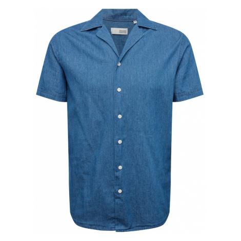 !Solid Koszula niebieski