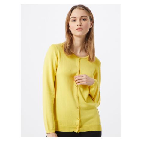 MORE & MORE Kardigan żółty