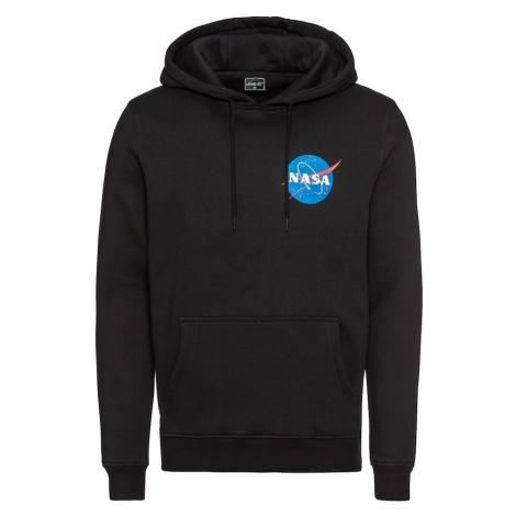 Mister Tee Bluzka sportowa 'NASA Small Insignia Hoody' czarny