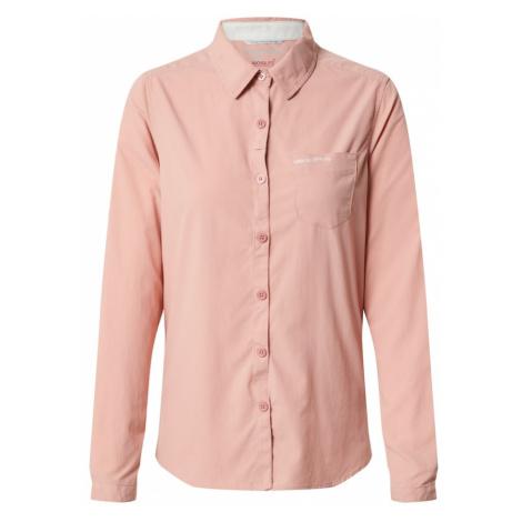 CRAGHOPPERS Bluzka funkcyjna 'NosiLife Bardo' różowy pudrowy