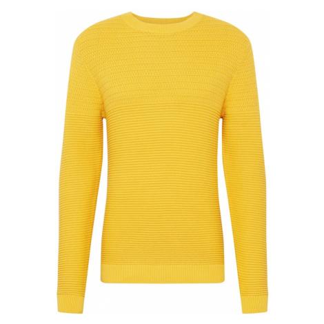 SELECTED HOMME Sweter 'Conrad' złoty żółty