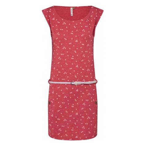 Ragwear Sukienka czerwony / biały