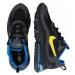 Nike Sportswear Trampki niskie ' Air Max 270 React' niebieski / czarny / żółty