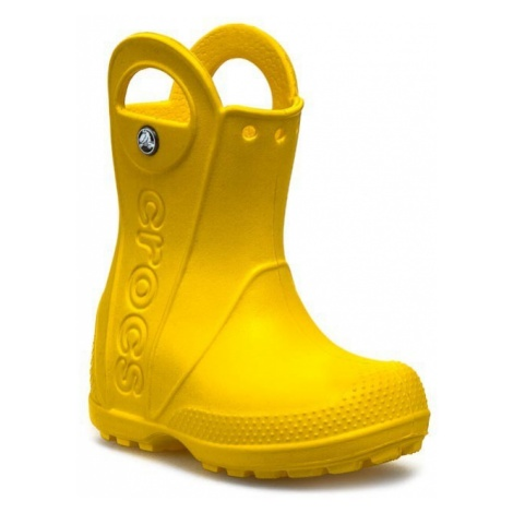 Kalosze CROCS - Handle It Rain 12803 Yellow