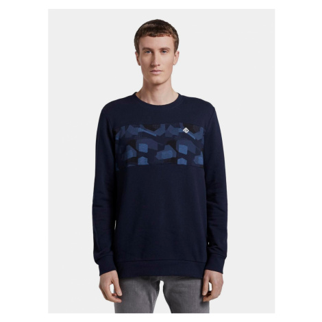 Tom Tailor Denim Dark Blue Men's Sweatshirt