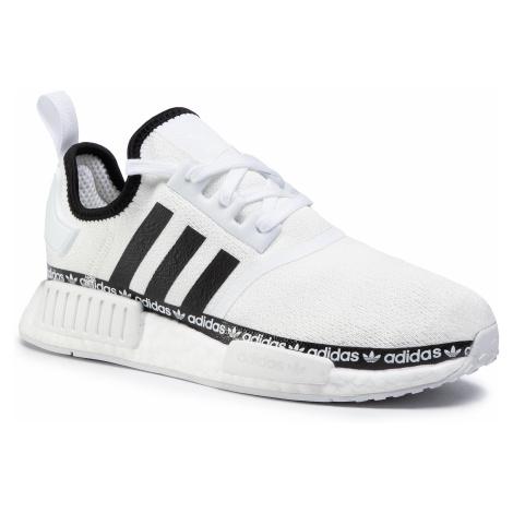 Buty adidas - Nmd_R1 FV8727 Cloud White/Core Black/Cloud White