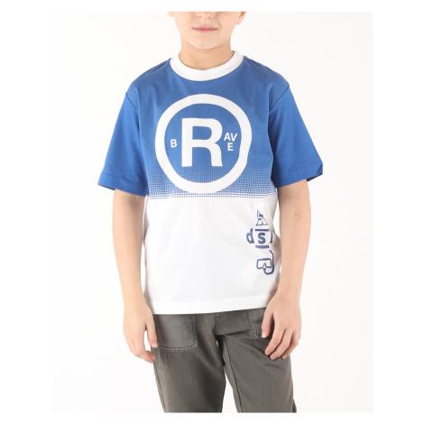 Diesel Taha Koszulka dziecięca Niebieski Biały
