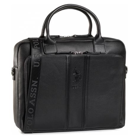 Torba na laptopa U.S. POLO ASSN. - Irvine Business Bag Pu BIUIV5043MVP/000 Black