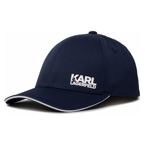 Czapka z daszkiem KARL LAGERFELD - 805616 501122 Midnight Blue 690