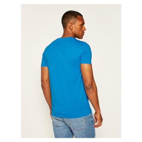 Superdry T-Shirt Ol Neon Lite Tee M1010026A Niebieski Regular Fit