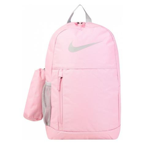 Nike Sportswear Plecak 'Elemental' jasnoszary / jasnoróżowy