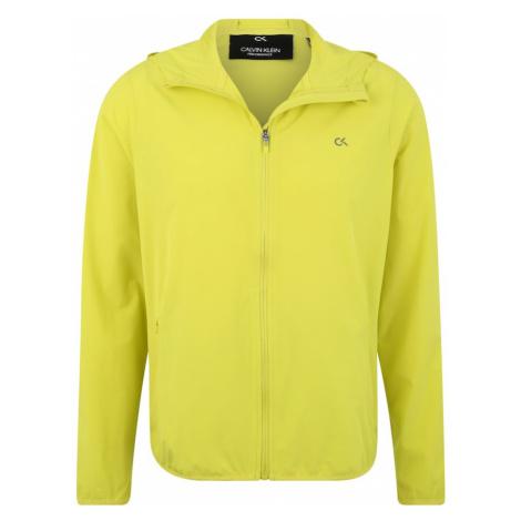 Calvin Klein Performance Kurtka sportowa 'WIND JACKET' neonowo-żółty