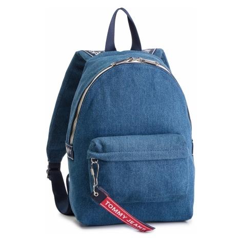 Plecak TOMMY JEANS - Tju Logo Tape Mini Backpack Denim AU0AU00673 904 Tommy Hilfiger