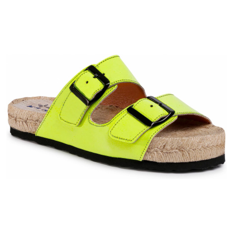 Espadryle MANEBI - Nordic Sandals F 9.0 R0 Yellow Fluo