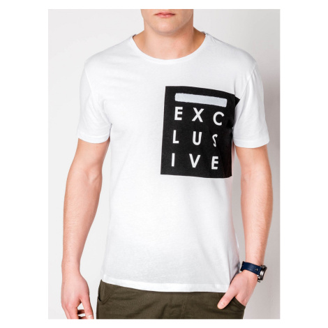 Ombre Clothing Men's printed t-shirt S882