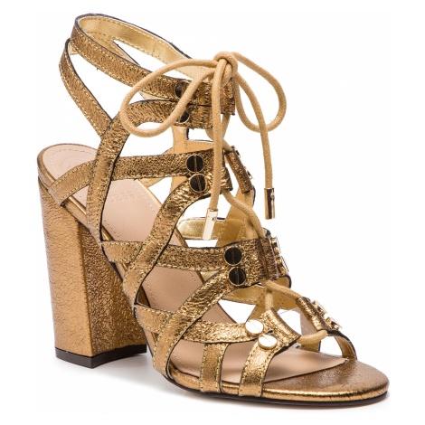 Sandały GUESS - Karlie FL6RLI LEM03 RUST
