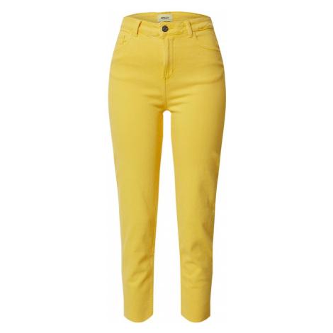 ONLY Jeansy żółty