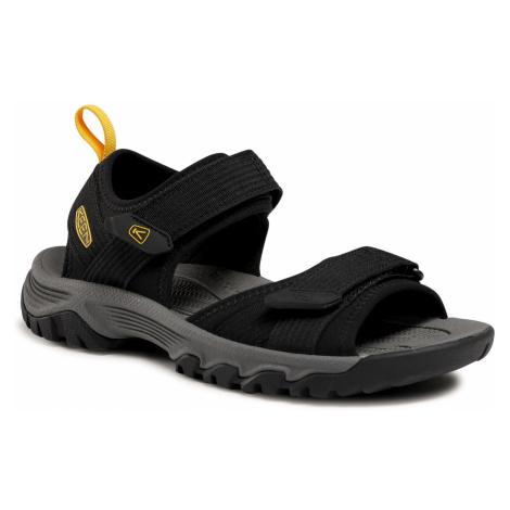 Sandały KEEN - Targhee III Open Toe H2 1024865 Black/Yellow