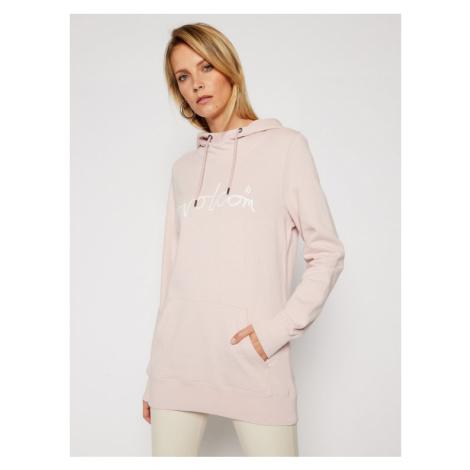 Volcom Bluza Costus P/Over H4152106 Różowy Regular Fit