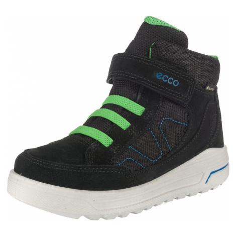 ECCO Śniegowce 'Urban Snowboarder' neonowa zieleń / czarny / niebieski