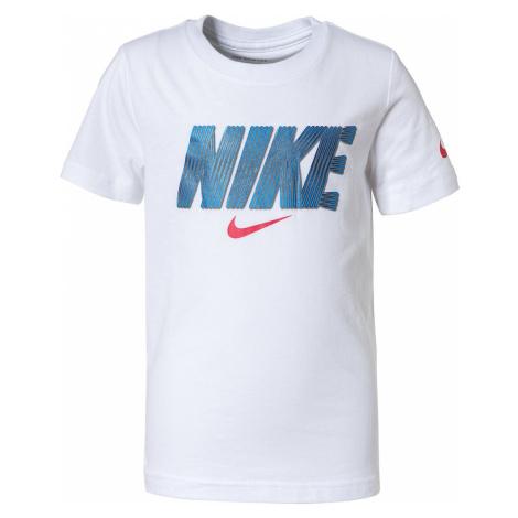 Nike Sportswear Koszulka biały / czerwony / niebieski
