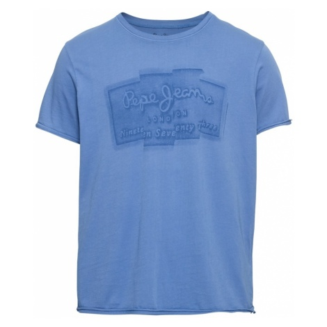 Pepe Jeans Koszulka 'IZZO' niebieski