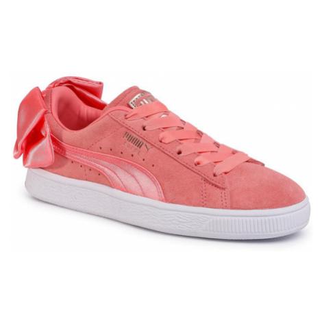 Puma Sneakersy Suede Bow Wn's 367317 01 Różowy