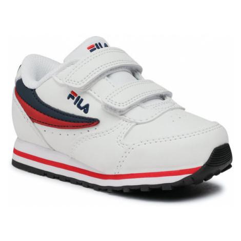 Fila Sneakersy Orbit Velcro Infants 1011080.98F Biały
