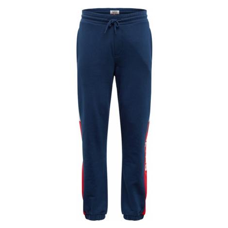 Tommy Jeans Spodnie ciemny niebieski / czerwony / biały Tommy Hilfiger