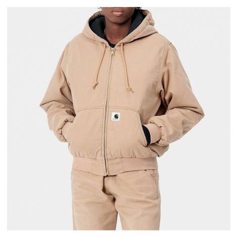 Kurtka damska Carhartt WIP W Active Jacket I028667 DUSTY H BROWN