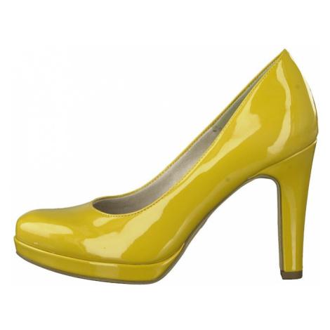 TAMARIS Czółenka żółty
